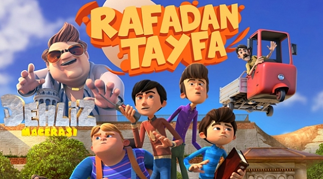 Çocuk Filmi Rafadan Tayfa Dehliz Macerası