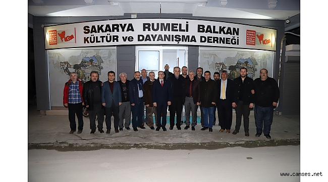 Debre Belediye Başkanı Rujdi Lata; Sakarya Rumeli Balkan Derneği'nde