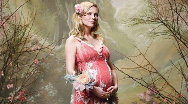 Kirsten Dunst hamile olduğunu duyurdu
