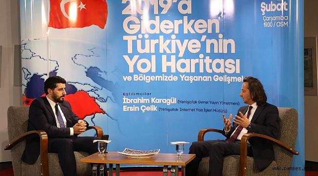 """""""Türkiye yükselişe geçmiş tarih tersine dönmüştür"""""""