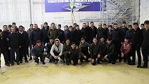 Fatih EML öğrencilerinden SASKİ'YE teknik gezi