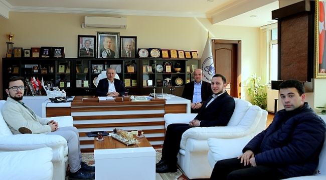 İlim Yayma Cemiyetinden Başkan Dişli'ye davet