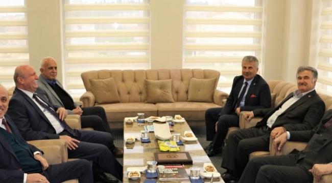 TZOB Genel Başkanından Erenler'e Ziyaret