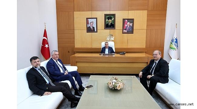 Başkan Toçoğlu Yalçın'a başarılar diledi