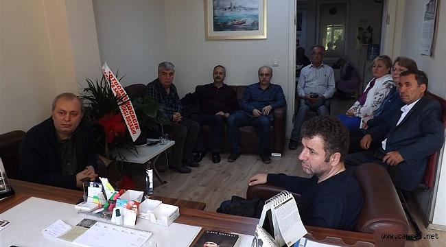 CHP'nin Konuğu Eğitim-Sen Yöneticileriydi