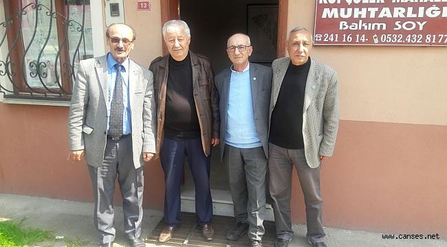 İYİ Parti Erenler '' Anlat muhtarım dinleyelim '' projesine devam ediyor