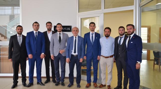 MBD' den Başkan Öztürk'e Ziyaret