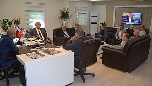 SESOB Başkanı Hasan Alişan'dan STB'ye ziyaret…