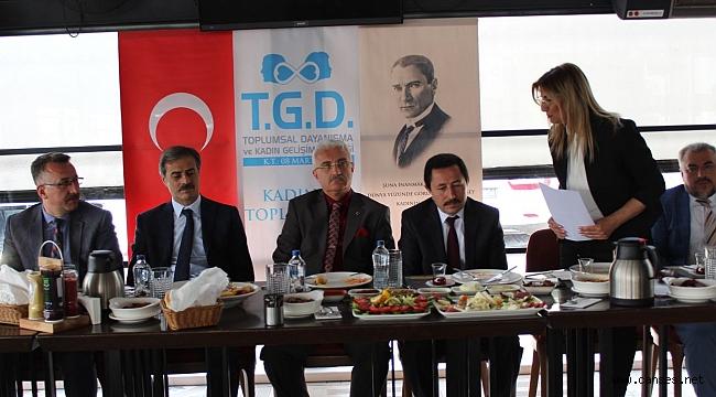 TGD Vali Balkanlıoğlu'nu ağırladı