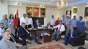 Ak parti Erenler ilçe teşkilatı Yönetim Kurulu Bayram Coşkuyla Kutlandı