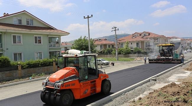 Başkan Alemdar 1. Cadde'deki Çalışmaları İnceledi
