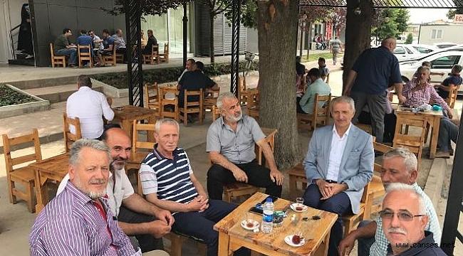 Başkan Dişli, emekler boşa gitmemesi için destek istedi