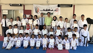 Geyve Karate Takımları Renklendi