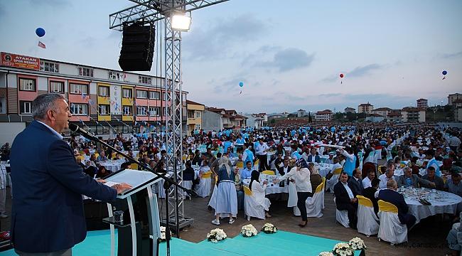 Kaynarca'nın yeni yatırımlarının açılış töreninde konuşan Başkan Toçoğlu,