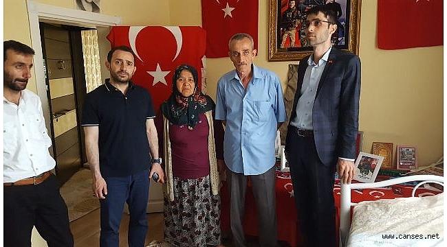 MHP Adayı Öksüz'den bayram turu