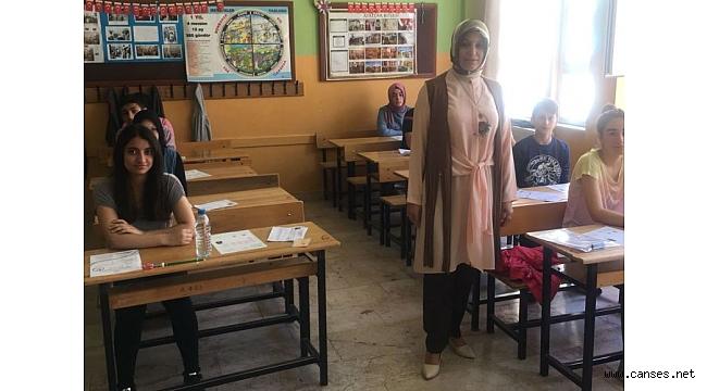 Ortaöğretim Kurumlarına İlişkin Merkezi sınav ilimizde yapıldı