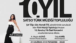 SATSO KOROSU 10'NCU YILINDA ELİF GÜLEŞÇİ İLE SAHNE ALACAK