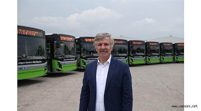 Ulaşım filosuna 21 yeni otobüs