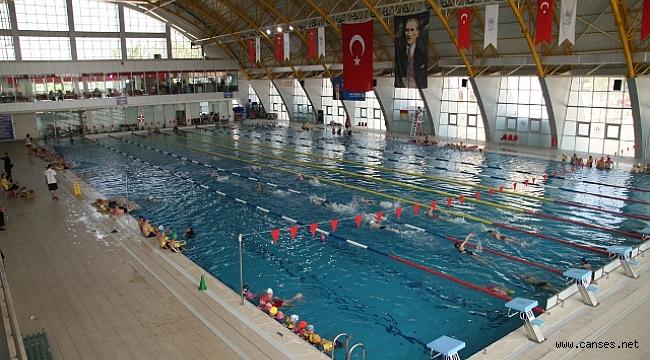 Yüzme kursu kayıtları başladı