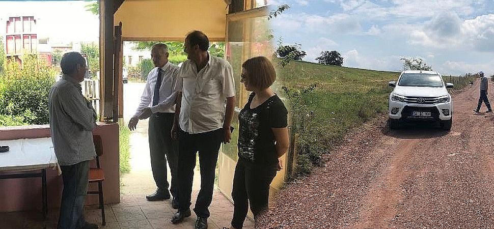 Adapazarı Belediye Başkanı Süleyman Dişli, Karadavutlu Köyü'nde