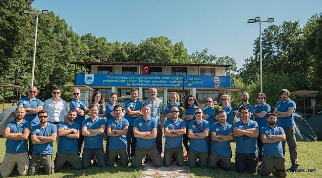 Sakarya Büyükşehir Belediyesi Doğada Yaşam ve Gelişim Kampında ilk hafta tamamlandı