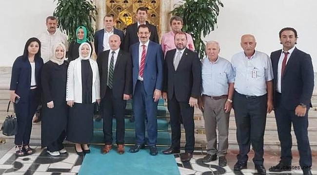 Erenler AK Parti'den Ankara çıkarması