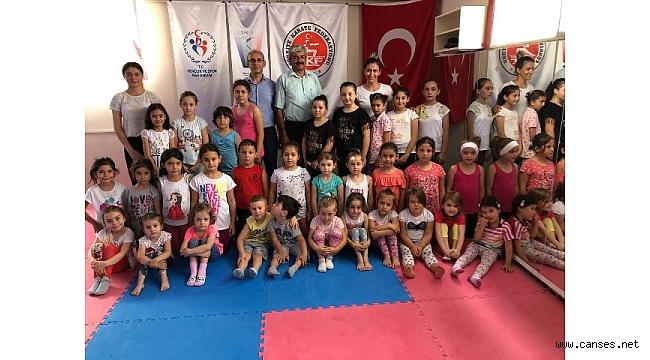 Geyve Karate ve Cimnastik yaz spor okulları devam ediyor…