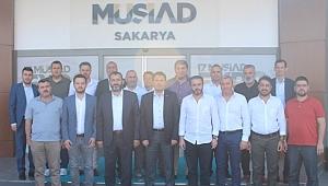 MÜSİAD Sakarya, Sakaryaspor Yönetimini Ağırladı