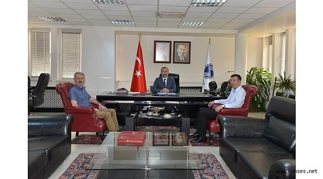 Hasan Ali Çelik'ten Rektör Savaşan'a Ziyaret