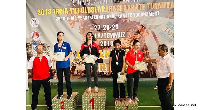 Kobaş Karate Takımı; Çanakkale'den büyük başarılarla döndü…