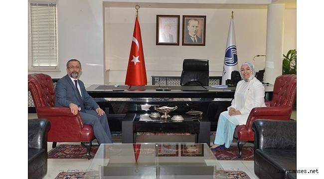 Milletvekili Çiğdem Erdoğan Atabek'ten Rektör Savaşan'a Ziyaret