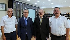 Arifiye Kaymakamı ve Başkanından Dişli'ye ziyaret