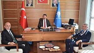 Başkan Öztürk'ten Yavuz'a Hayırlı Olsun Ziyareti