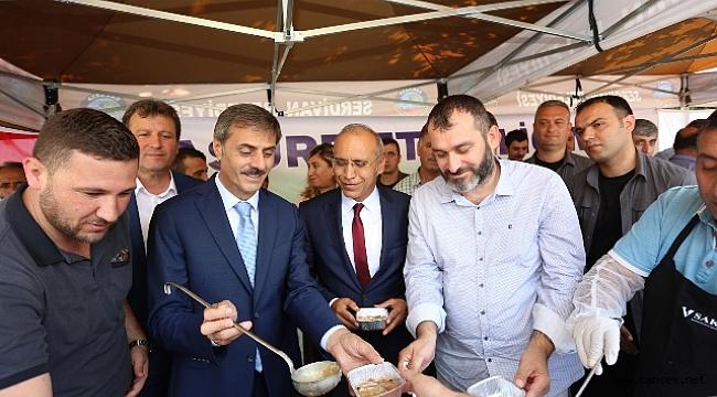 Serdivan'da Ağızlar Aşure İle Tatlandı