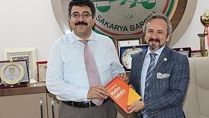 VERGİ MAHKEMESİ BAŞKANINDAN BARO BAŞKANI AV. ZAFER KAZAN'A ZİYARET