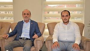 Yeni Gençlik Kolları Başkanından Başkan Öztürk'e ziyaret
