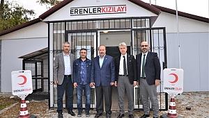 Ahmet İşgüzar Kızılay Erenler Şubesini ziyaret etti