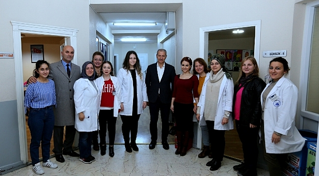 Başkan Dişli Bilgievi'ni ziyaret etti