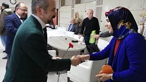 CHP SERDİVAN BELEDİYE BAŞKAN ADAYI ZAFER KAZAN'DAN ANLAMLI ZİYARET
