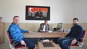 Dünya Şampiyonu Başar Osmangazi'yi Ziyaret etti