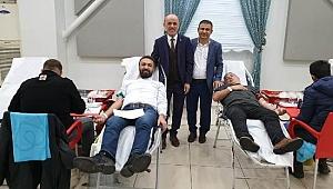 """Erenler'de """"Kan Ver Hayat Kurtar"""" Kan Bağışı Kampanyası"""