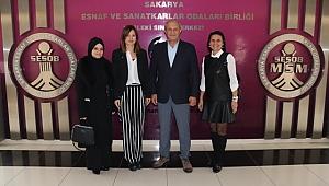 Genç Büyükşehir Aday Adayı Şen'den SESOB Başkanı Alişan'a ziyaret