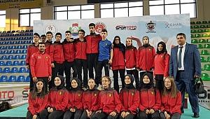 Genç U 21 Türkiye Karate Şampiyona'sında Kobaş Karate Kulübü'nden 1 Şampiyonluk 1 üçüncülük