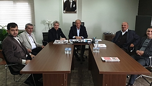 Kıratlı'dan SESOB Başkanı Alişan'a Ziyaret