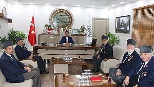 Muharip Gaziler Derneği Abdurrahim BURAK'a hayırlı olsun ziyareti gerçekleştirdi.
