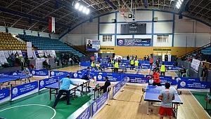 Özel Şirketler Masa Tenisi Turnuvasında Buluştu