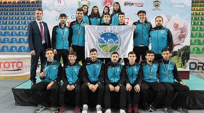 Rize'de 5 madalya Büyükşehir'in