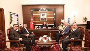 Sakarya Valisi Ahmet Hamdi Nayir 'e Hayırlı Olsun Ziyareti