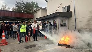 SEDAŞ Kocaeli Çalışanlarının Yangın Tatbikatı Gerçeği Aratmadı