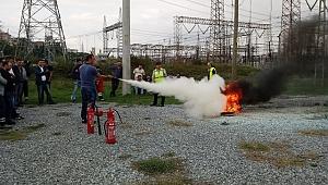SEDAŞ'tan Sakarya'da Çevik Ekipler İçin Kurtarma ve Yangın Eğitimi